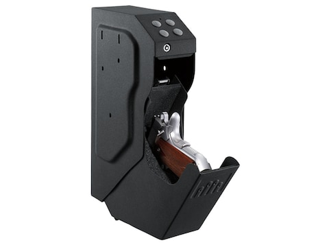 GunVault SpeedVault Personal Safe With Electronic Lock Black
