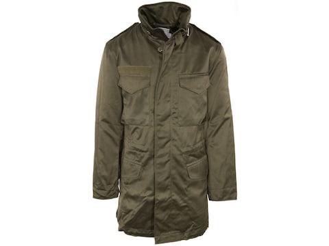 Military Surplus Austrian Field Jacket Olive Drab