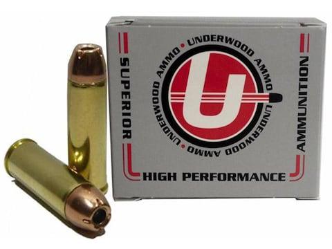 Underwood Ammunition 454 Casull 300 Grain Hornady XTP Jacketed Hollow Point Box of 20