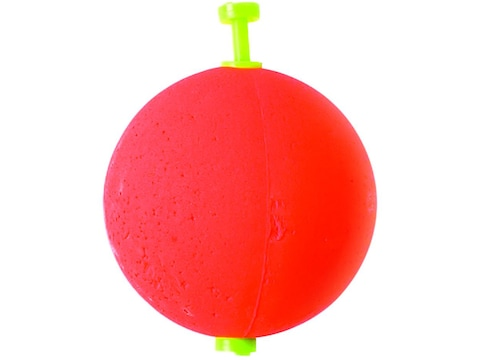 "Eagle Claw Foam Round Floats 1"" Unweighted Red 2pk"