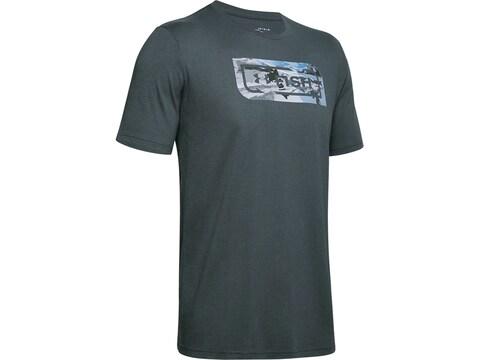 Under Armour Men's Camo Fill Short Sleeve Shirt Polyester/Cotton
