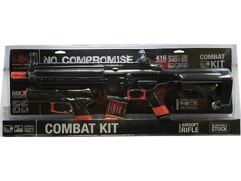 HK 416 Advanced SB199 AEG Combat Kit Airsoft Pistol