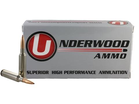 Underwood Match Grade Ammunition 6.5 Creedmoor 140 Grain Hollow Point Boat Tail Box of 20
