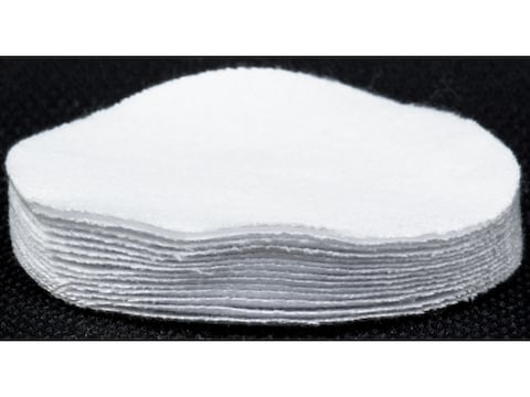 MidwayUSA Gun Cleaning Patches Black Powder Round Cotton Package of 250