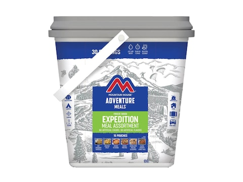 Mountain House Just in Case Expedition Bucket Freeze Dried Food