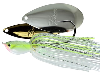 Picasso Super Strong Inviz Wire Willow/Indiana Spinnerbait 1/2oz Chartreuse Gizzard Shad Gold/Nickel