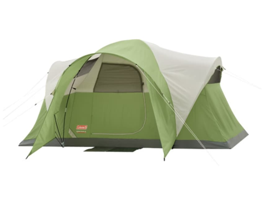 Coleman Montana 6 Person Modified Dome Tent 144 x 84 x 68 ...