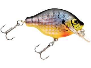 Bagley Small Fry 1 Crankbait Bream on Chartreuse