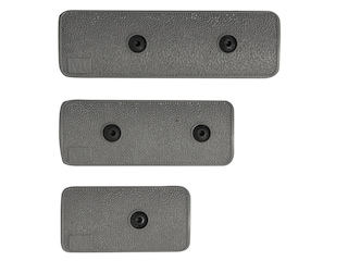 Midwest Industries KeyMod Panel Kit with 1 3-Slot Panel, 1 4-Slot Panel, 1 5-Slot Panel Textured Polymer Wolf Gray