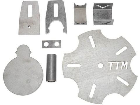 "Spartan Armor DIY Texas Star AR500 Steel Target 6"" Paddle Kit"