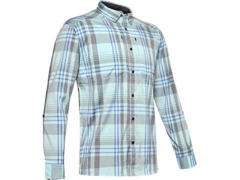Under Armour Men's Tide Chaser Plaid 2.0 Long Sleeve Shirt Polyester