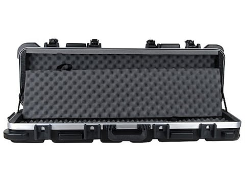 """SKB ATA 4009 Double Rifle Gun Case with Wheels for Firearms up to 40"""" Polymer Black"""