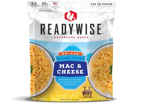 ReadyWise Golden Fields Mac & Cheese Freeze Dried Food