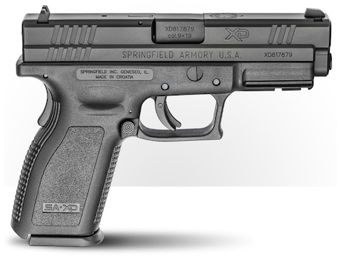 """Springfield Armory Defender XD Service 9mm Luger Semi-Automatic Pistol 4"""" Barrel 16-Round"""
