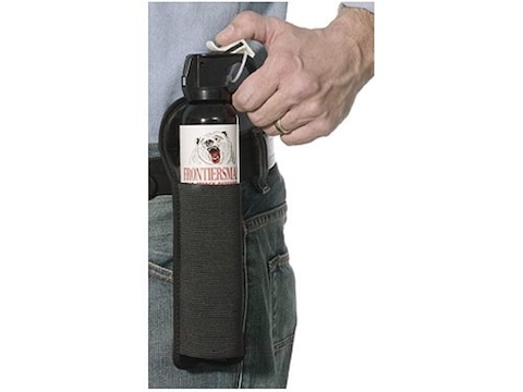 Frontiersman Bear Deterrent Pepper Spray 9.2 oz Aerosol with Belt Holster