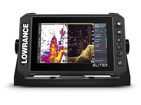 Lowrance ELITE FS 7 Fish Finder with HDI Transducer