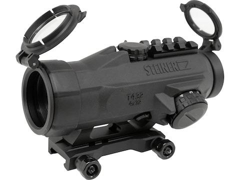 Steiner T432 Prism Sight 4x 32mm Rapid Dot Reticle with Picatinny Mount Matte