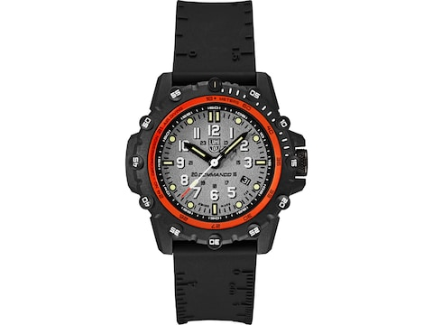 Luminox Commando Watch Carbon Compound Case/Polyurethane Band Gray/White