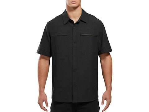 Viktos Men's Shemagh Button-Up Short Sleeve Shirt Cotton/Linen