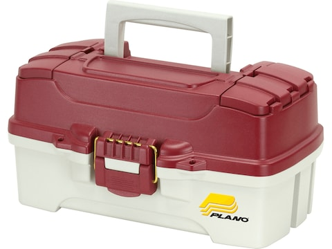 Plano Two-Tray Tackle Box Blue/Off White