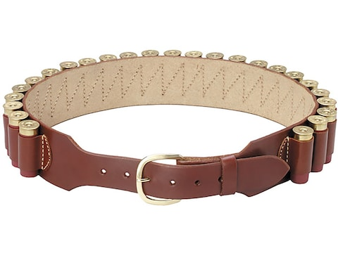 Triple K 70 12 Gauge Shot Shell Belt Leather Walnut Oil