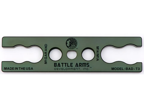 Battle Arms Gas Cylinder Lock Wrench M14, M1A, M1 Garand Aluminum Green