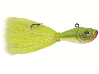 SPRO Bucktail Jig Crazy Chartreuse 1/2 oz