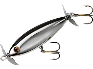 Cotton Cordell Crazy Shad Topwater Chrome Black