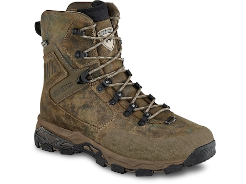 """Irish Setter Pinnacle 9"""" Insulated Hunting Boots Leather Men's"""
