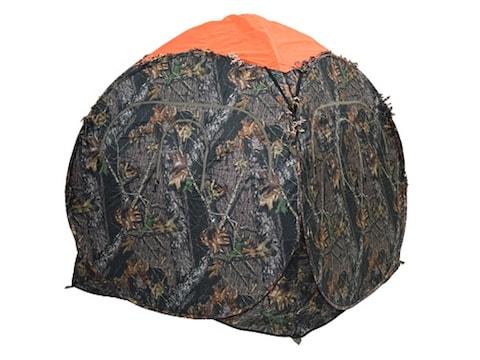 Ameristep Safety Ground Blind Cap fits Outhouse/Doghouse Blinds Polyester Blaze Orange
