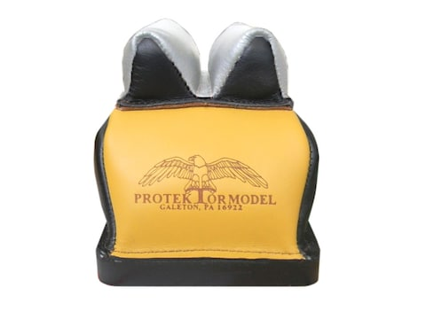 Protektor Deluxe Bumble Bee Double Stitched Super Slick Silver Bunny Ear Rear Shooting ...