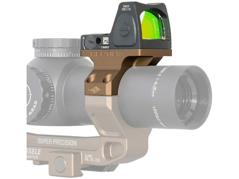 Reptilia ROF-90 Trijicon RMR Mount Compatible with Geissele 34mm Super Precision Mount ...