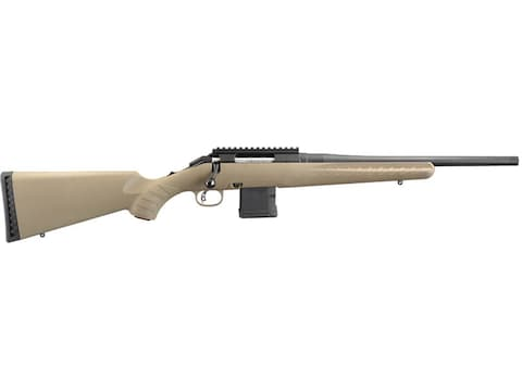 "Ruger American Ranch Rifle 16"" Threaded Barrel Blue, Flat Dark Earth"