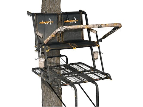 Muddy Outdoors The Nexus XTL 20' Double Ladder Treestand Steel