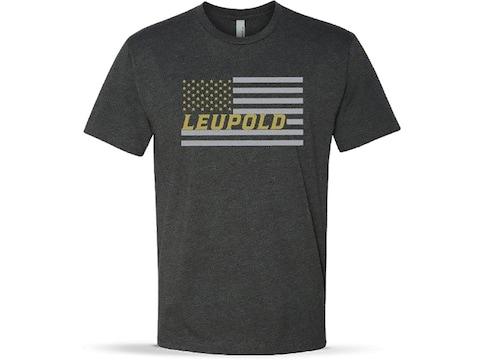Leupold Men's USA Flag Short Sleeve T-Shirt Cotton/Poly