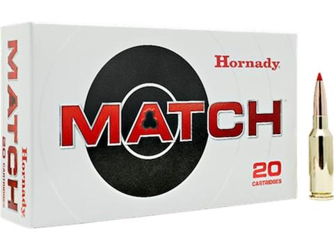 Hornady Match Ammunition 6mm ARC 108 Grain ELD Match Box of 20