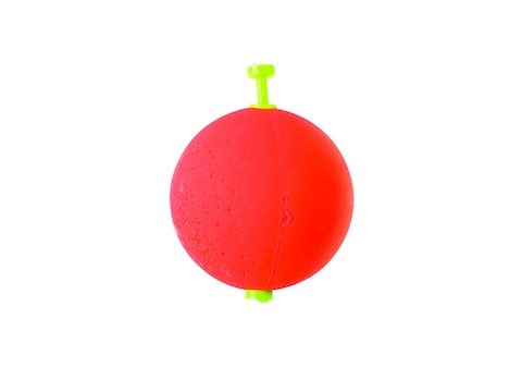 Eagle Claw Foam Round Float Unweighted Red 2 Pack