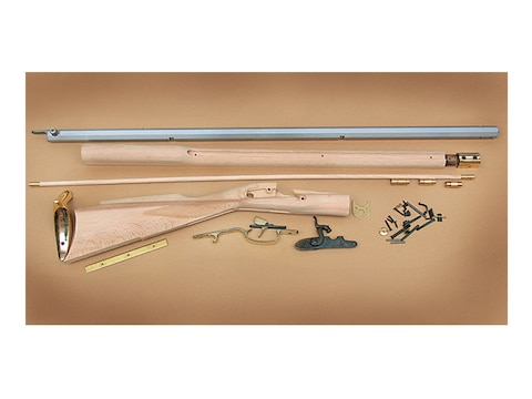 """Traditions Deluxe Kentucky Muzzleloading Rifle Kit 50 Caliber Percussion 33.5"""" Barrel S..."""