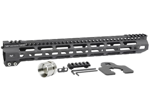 Midwest Industries Ultralight Free Float M-Lok Handguard AR-15 Aluminum Black