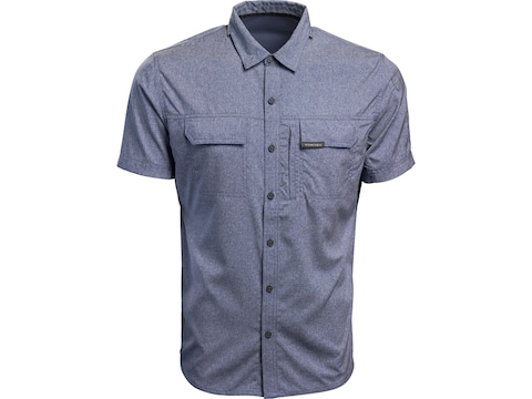 Vortex Optics Men's Hammerstone Short Sleeve Shirt Crown Blue