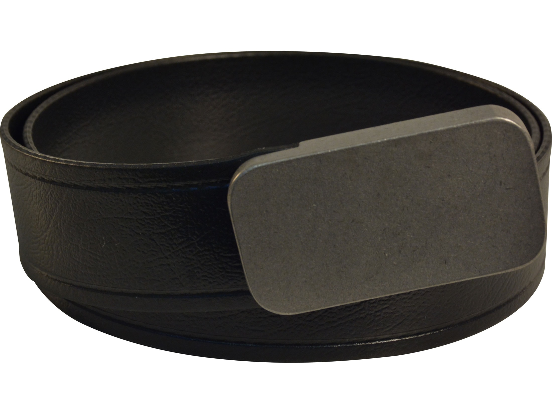 Lenwood Leather Blunt Force Trauma Hybrid Belt 1.5 Stainless Steel Buckle.