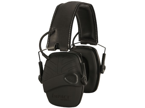 Howard Leight Impact Sport Tactical Electronic Earmuffs (NRR 22 dB) with Hard Case Black