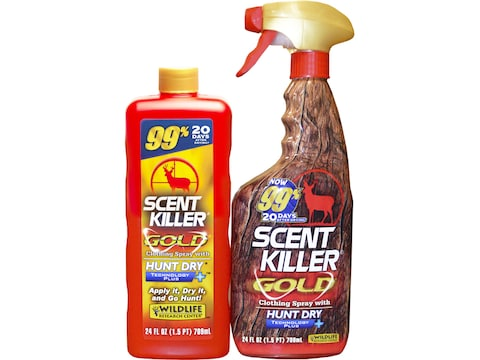 Wildlife Research Center Scent Killer Gold 24/24 Scent Elimination Combo