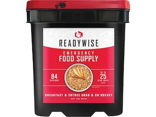 ReadyWise Grab N' Go Freeze Dried Food 84 Serving Bucket