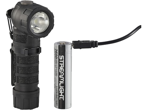 Streamlight PolyTac 90X Flashlight LED with Rechargeable Lithium Battery Polymer Black