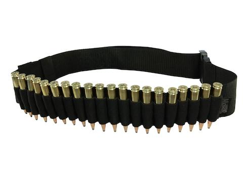 MidwayUSA Rifle Ammunition Belt 20-Round Black