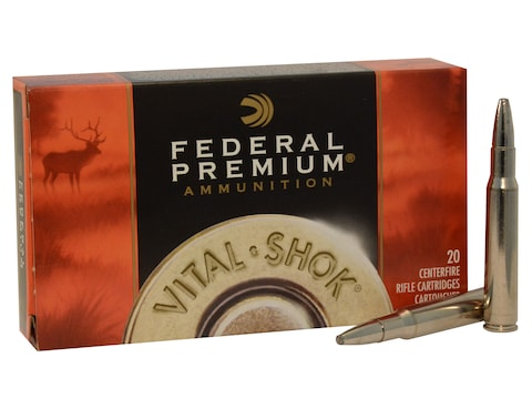 Federal Premium Ammunition 30-06 Springfield 200 Grain Trophy Bonded Bear Claw Box of 20