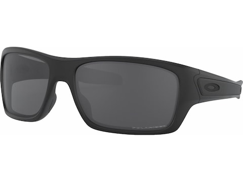 Oakley Turbine Polarized Sunglasses Matte Black Frame/Gray Lens