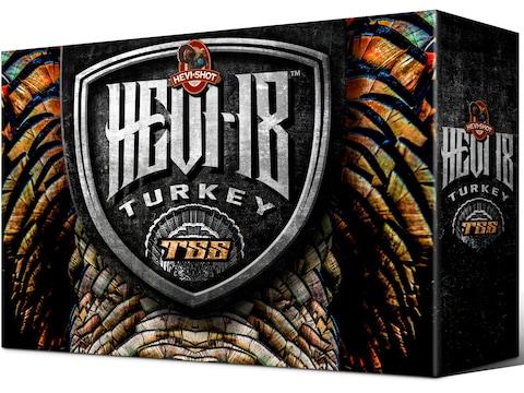 "Hevi-Shot Hevi-18 TSS Turkey Ammunition 20 Gauge 3"" 1-1/2 oz Non-Toxic Tungsten Super S..."