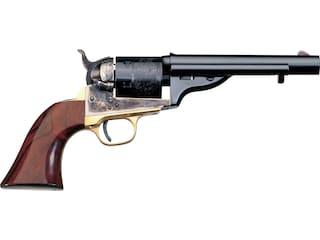 "Taylor's & Co Open Top Early/Navy Single Action Revolver 45 Colt (Long Colt) 5.5"" Blued Barrel Case Hardened Steel Frame Walnut Grips 6 Round"
